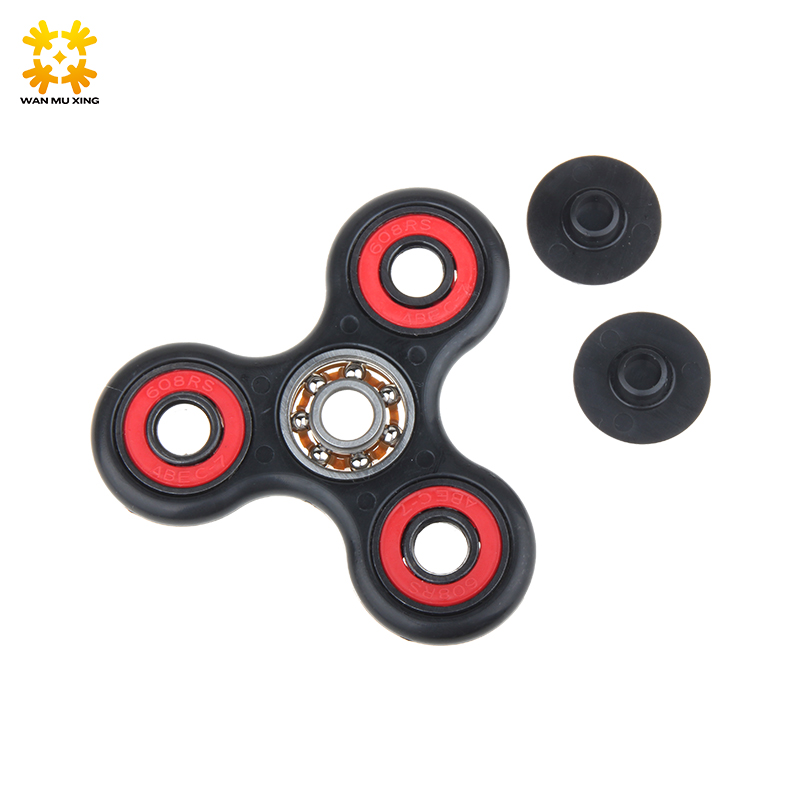 Hand Spinner Reduce Press Finger Tri-Spinner Fidget Toy Plastic EDC For Autism & ADHD Rotation Time Long Anti Stress Toys luminous tri fidget hand spinner light in dark edc tri spinner finger toys relieve anxiety autism adhd for child
