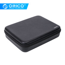 Orico Multi-Fungsi HDD Kandang Tas 2.5 & 3.5 Hard Drive Case Power Bank Kantong untuk iPad Pro Macbook air Bag(China)