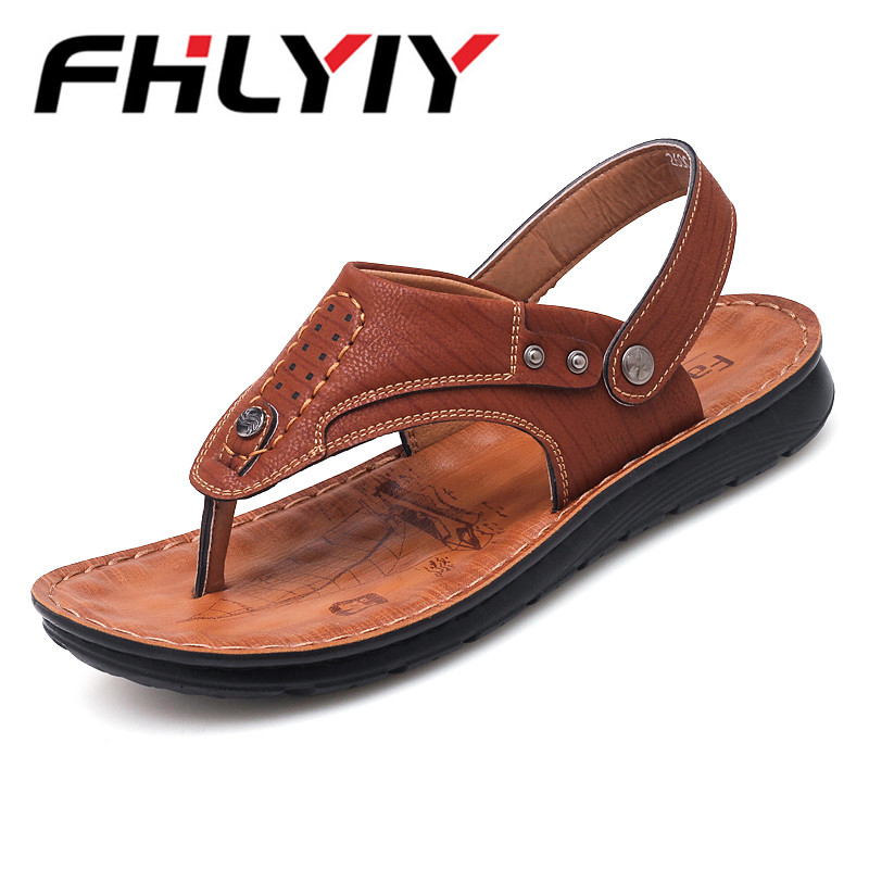 Shoes Man For Summe 2018 Concise Shoes New Fashion Slippers Breathable Casual Buckle Sandals Men Leisure Outdoor Sandals Men