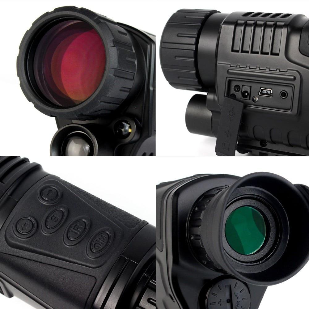 New Model 1 5 LCD hunting camera Night Vision 5x40 Digital Monocular Termico Zoom Scope Video
