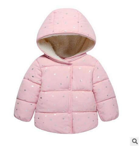 Warm 2018 winter coat for boys girls hot sale children cartoon hooded coats high quality clothes kids jackets baby costume