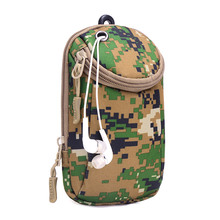 New Men Denim Waist Bag High Quality Casual Women Chest Packs Phone Coin Small Bags Camouflage