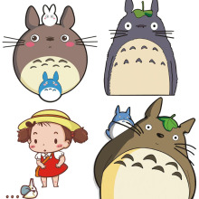 Totoro stickers 2016 New sticker muraux en francais pour salon barri re de bain for Car