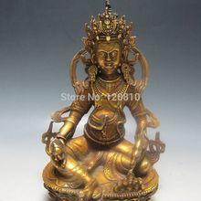 JJJ000 + + trabajo hecho a mano Estatua de bronce Chino — tara