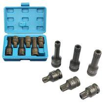 CTV drenaje de aceite M14, M16, M18, con cabezal para tornillos, herramienta de enchufe a prueba de manipulaciones para VW y AUDI