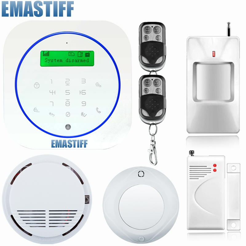 New arrival wireless andriod app gsm alarm system home security alarma gsm 99 wireless zone TFT color display built-in siren 2017 new arrival broadlink s1c s1 smartone alarm