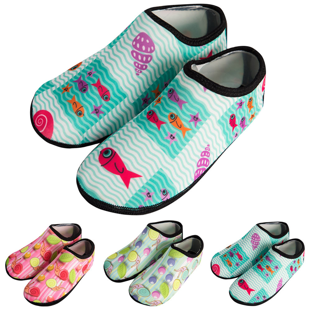 Baby Shoes Children Swimm Diving Socks Outdoor Water Sport Scratche Non-Slip Shoes Seaside Sapato Infantil2.44