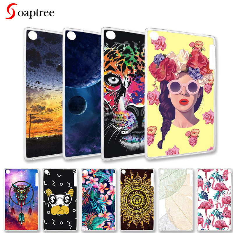 Cases for <font><b>Lenovo</b></font> Tab 2 A7-20 A7-30 A7-<font><b>50</b></font> A10-<font><b>70</b></font> A3500 A7-30 A3300 MT8121M 7.0 Cases Painted Silicone Cover for <font><b>Lenovo</b></font> Phab Plus image