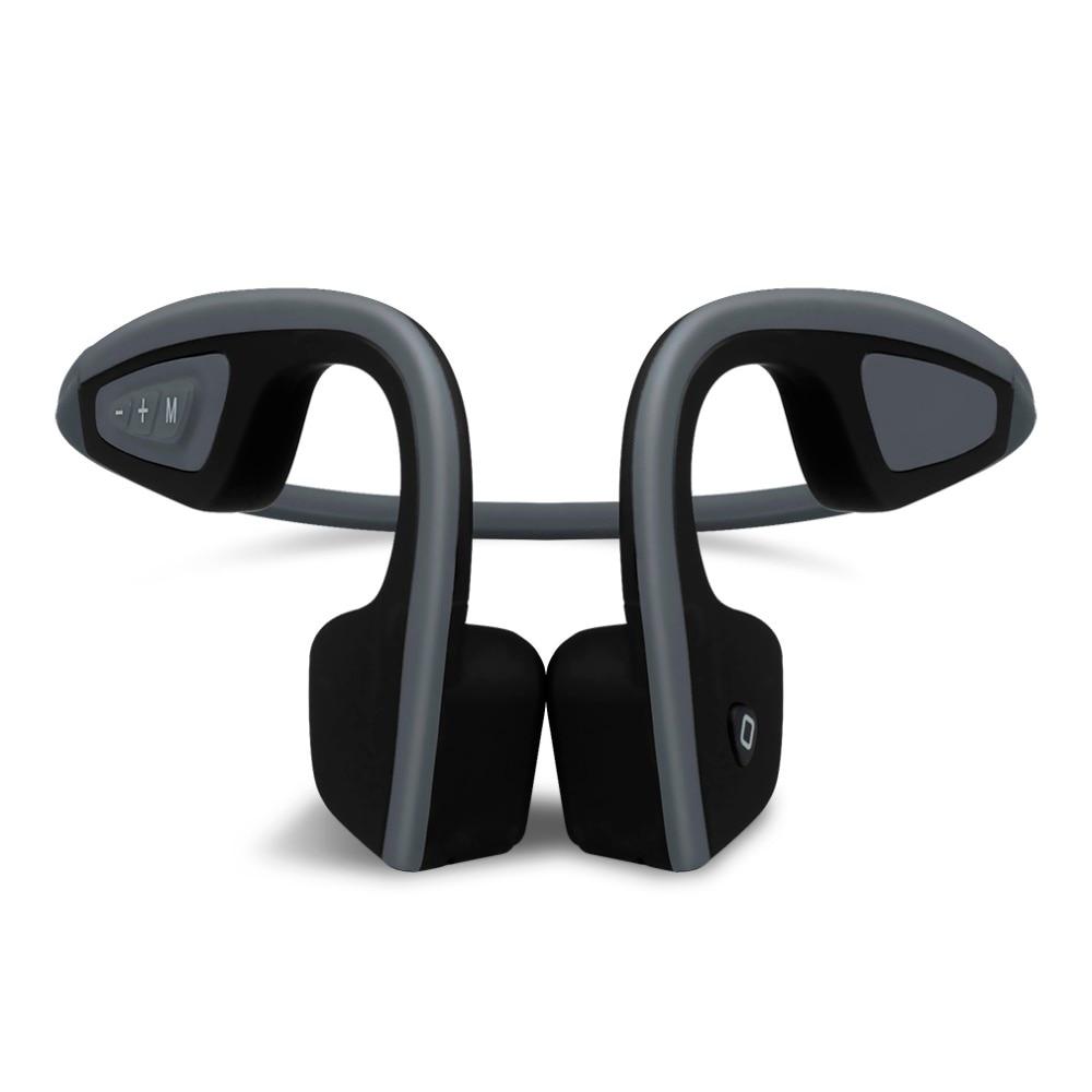 Nuovo S. Wear LF-19 Wireless Auricolari Stereo Bluetooth BT 4.1 Impermeabile tracolla auricolari Conduzione Ossea Cuffie Mani-free