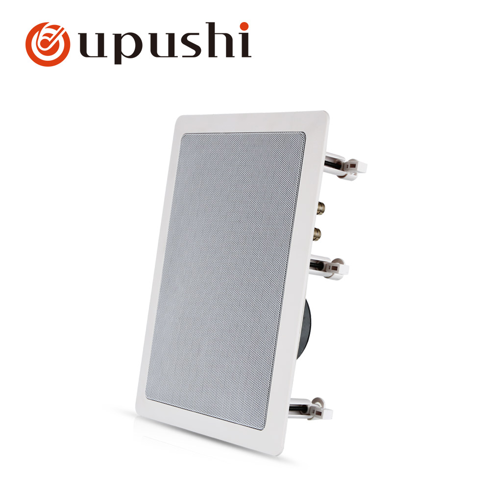 Oupushi Hifi Ceiling Speaker 100w Home Theatre System Indoor In Wall Speakers White Hivi Pa Speakers For Surround Sound