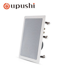 Oupushi hifi ceiling speaker 100w home theatre system indoor in wall speakers white hivi pa speakers