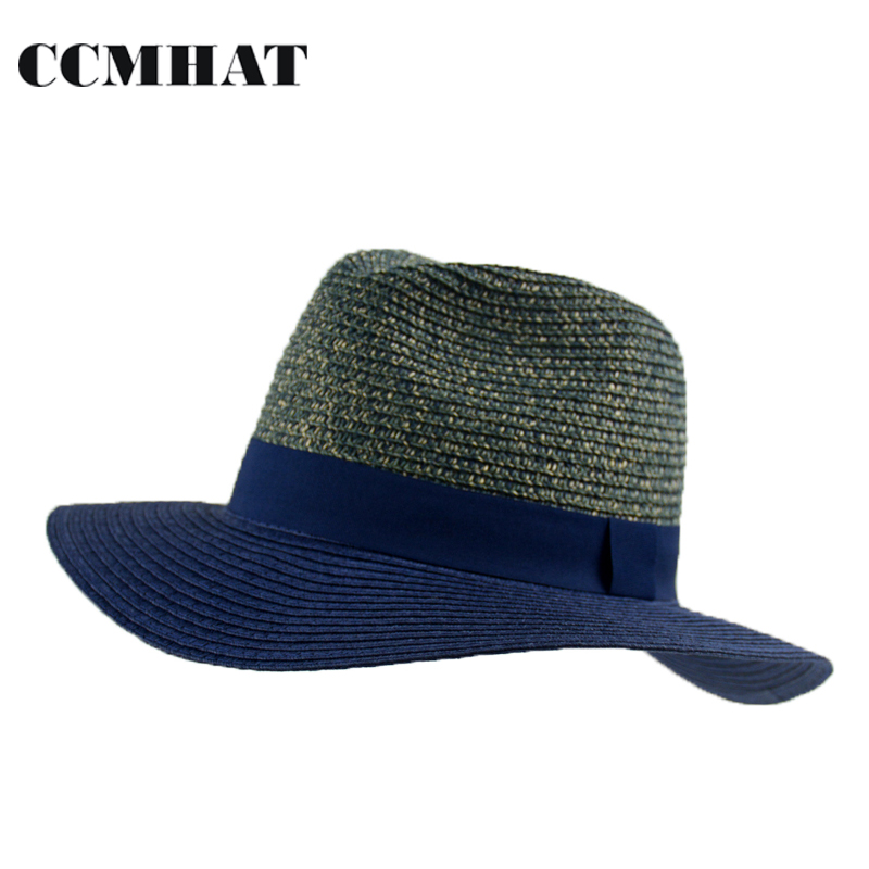 2214d7ba168 Summer wide brim caps women fedora cowboy bucket hat Ladies bob sun cap  women cotton floppy ...