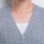 2016 nova primavera homens camisola suéter de cashmere cardigan coreano maré fina