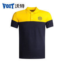 2017 VOIT Summbe New Color mix Sports Short-Sleeved T-shirt Polo Shirt Men's Breathable sweat quick-drying lapel sportswear