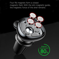Baseus Magnetic Car Phone Holder For iPhone Samusung 360 Rotation Air Vent Mount Mobile Phone Holder Stand for Car Holder 3