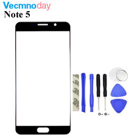 Vecmnoday 5 7 Genuine Original For Samsung Galaxy Note 5 Note5 N920F N920 Front Glass Touch