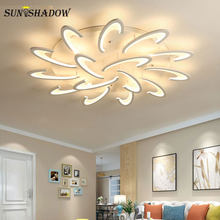 Minimalist Modern LED Chandelier For Living Room Bedroom Study room Kitchen Luminaire Led Ceiling Chandelier Lighting Home Lamp(China)