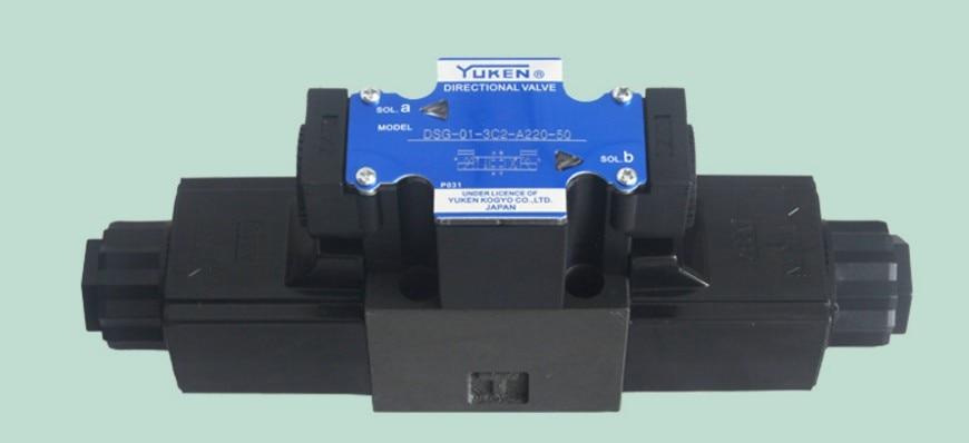 YUKEN hydraulic valve DSG-01-3C2-A220-50 high pressure valve high quality hydraulic valve ebg 03 c 60t