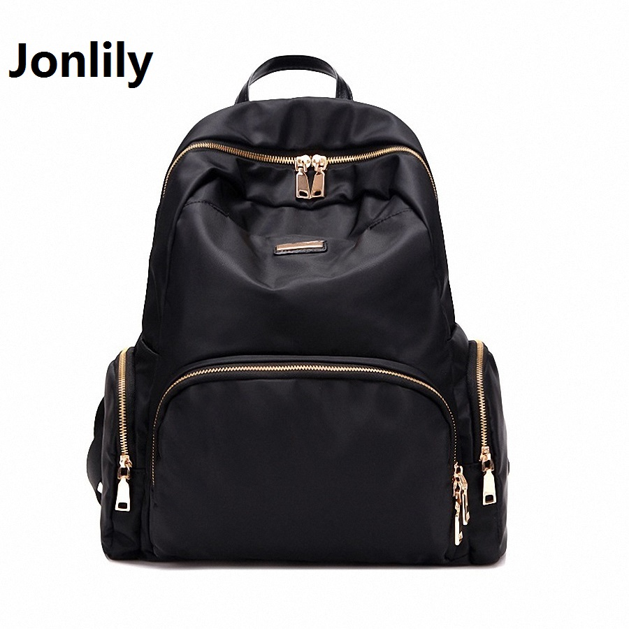 Jonlily Women s Oxford Waterproof backpack Bags Fashion Trend Leisure All match Travel Convenient Youthful Energy