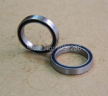 50pcs/lot  6907-2RS  thin wall bearing  6907  6907RS  61907-2RS  rubber sealed deep groove ball bearings 35x55x10 mm