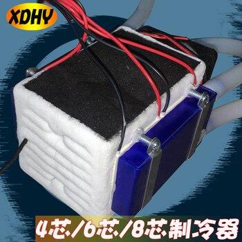 Полупроводниковый Холодильный чип 12В портативный охлаждающий кондиционер маленький мини Diy электронный холодильник комплект модуль