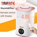 Humidifier Touch and Remote Control LED Display Ultrasonic Cool with Filter Humidity Mist Control Timing Water Shortage