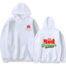 LUCKYFRIDAYF K-pop RED Velvet Print Design Hoddies Women/Men popular Clothes Harajuku Casual Hot Sale Hoodies sweatshirt 4XL