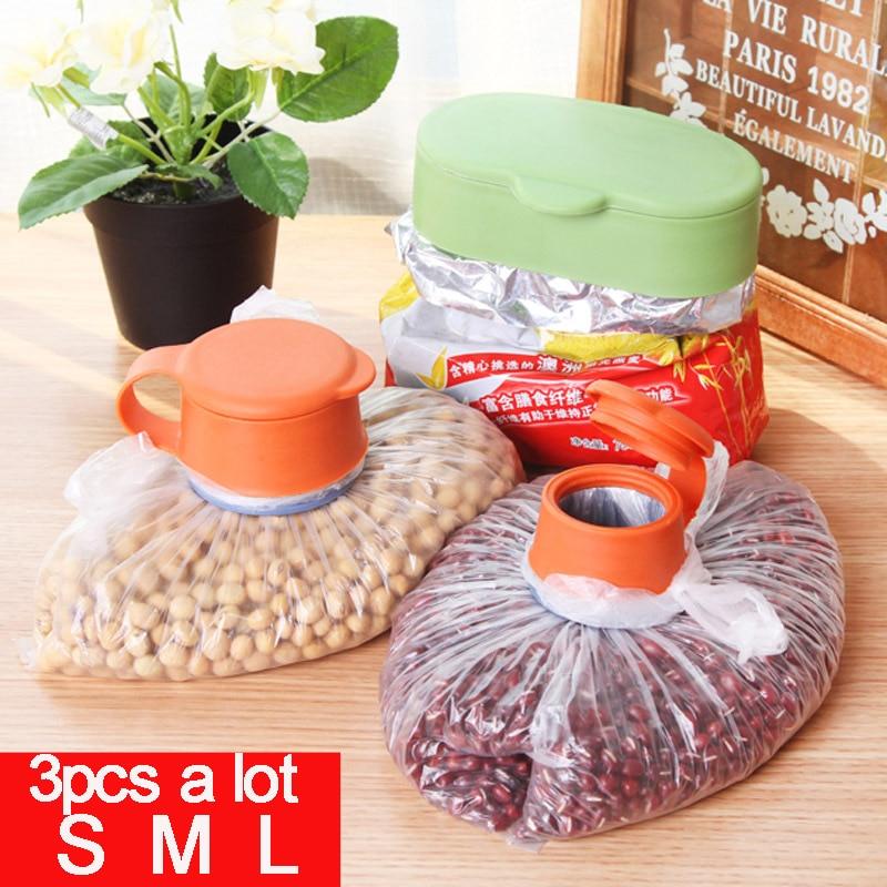 vanzlife pemeliharaan makanan kreatif sihir klip hewan peliharaan beg - Organisasi dan penyimpanan di dalam rumah - Foto 3