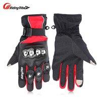 Riding Tribe HX 04 Motorcycle Motorbike Powersports Anti Slip Touch Screen Racing Gloves