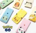 Lindo Pokemon Ir Bulbasaur Charmander Squirtle Jigglypuff Snorlax Pikachu Psyduck cubierta dura de la pc case para iphone 5 5s 6 6 s Plus