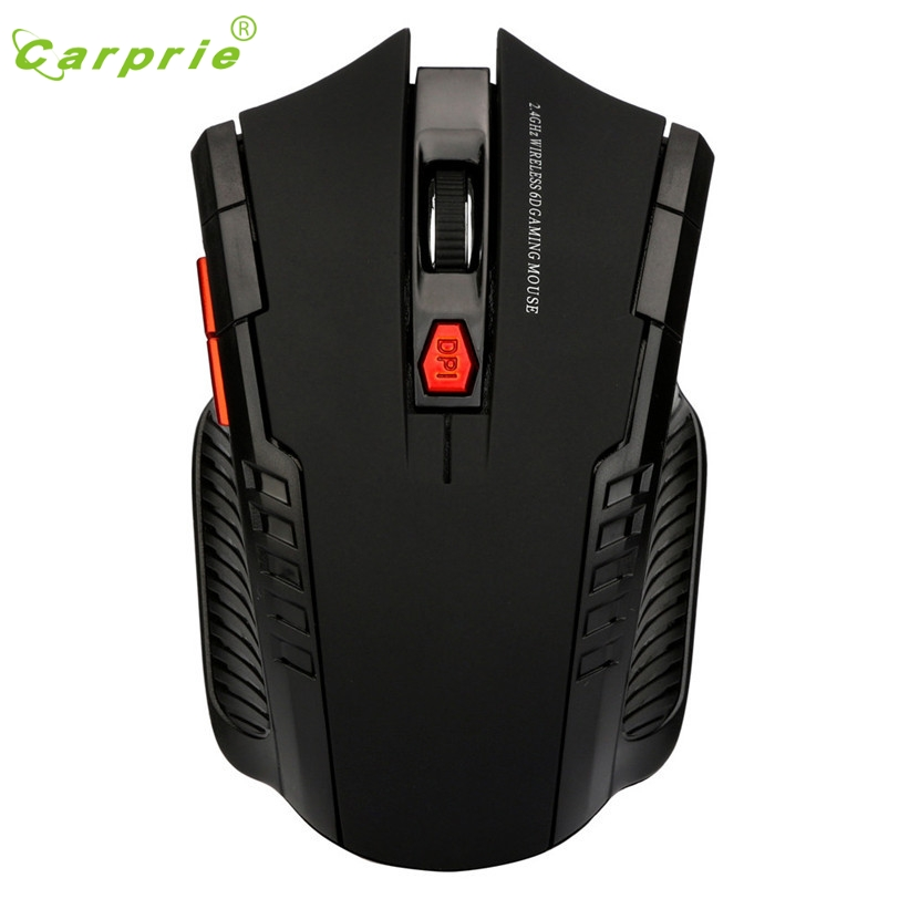 Игровая мышь 2,4 ГГц мини беспроводная эргономичная оптическая мышь и usb-приемник для ПК ноутбука Apr28 CARPRIE заводская цена