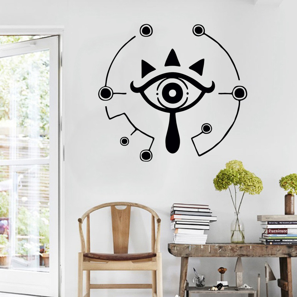 The Legend Of Zelda Breath Of The Wild Sheikah Slate Decal Bumper