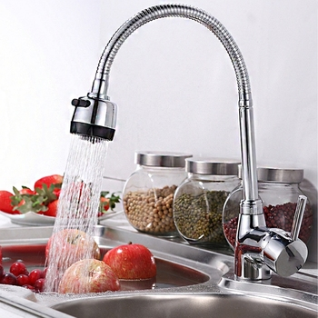 360 Degree Swivel Water Saving Tap Aerator Diffuser Faucet Nozzle Filter Connector Kitchen Fixtures