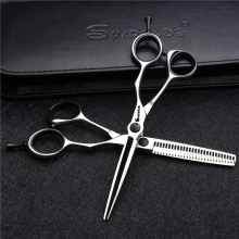 7/5.5 inch professional barbershop haircut scissors high quality japanese hairdresser cutting cliper thinning