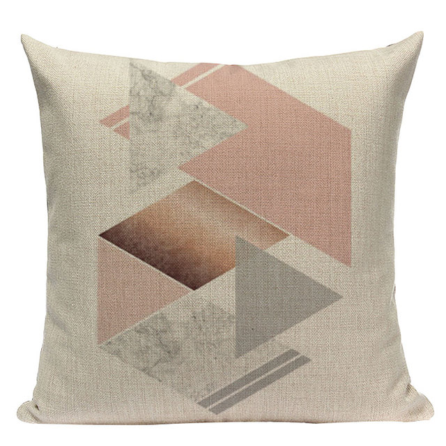 Nordic Pop Geometric Pillowcase Size: L313 Color: L313-18