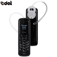 EDAL BM50 Mini Bluetooth Headset Dialer Stereo Earphone Bluetooth Headphone Pocket Phone Charging Support SIM Card