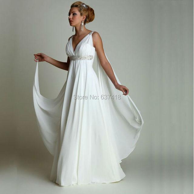 Greek Style Boho Bohemian Wedding Dresses Spaghetti Straps: Greek Style Gothic Wedding Dresses 2016 Bohemian Style