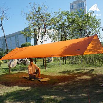3F UL GEAR Tarps 15D Silicon Tarpe Ultralight Sun Shelter namiot plażowy Pergola markiza baldachim tafta Tarp Camping Sunshelter tanie i dobre opinie 3000mm Pręt ze stopu aluminium Namiot dla 3-4 osób 3000 mm 3000 mm