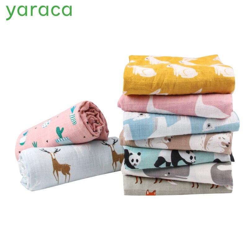 Детские пеленки для новорожденных супер мягкие органические хлопковое муслиновое одеяло для детей многофункцион