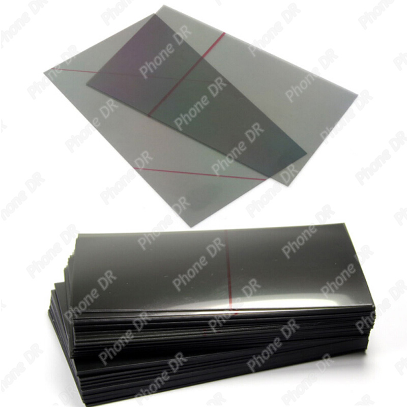 LCD Polarizer Light Film Sheets Refurbishing Polarizer Film LCD Screen Filter for iPhone 5/5c/5s