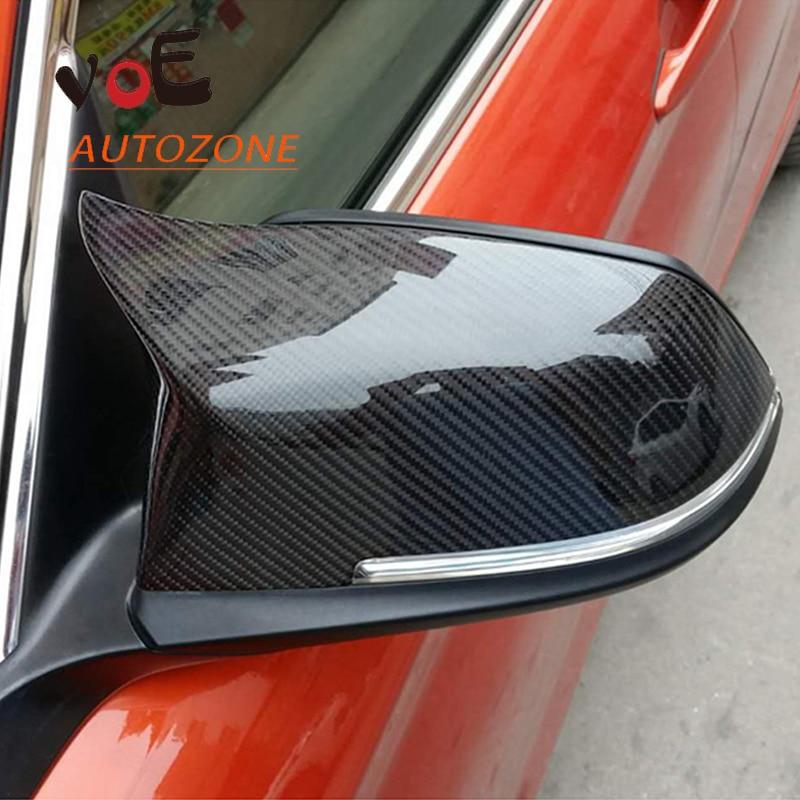 M3 M4 Style F20 F21 F22 F23 F30 F31 F32 F33 F36 F87 Replacement Carbon Fiber Mirror Covers for BMW 1 2 3 4 Series все цены