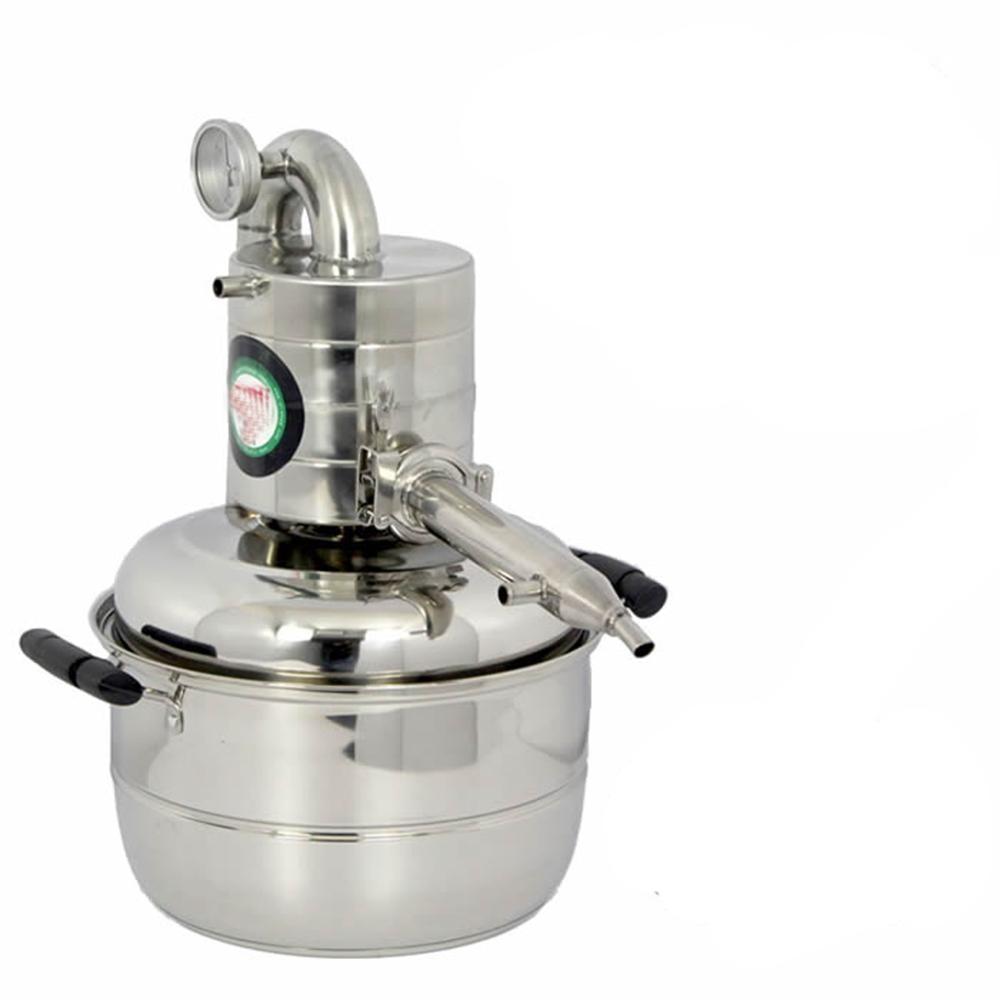 15L Water Alcohol Distiller Home Brew Kit Still Wine Making Essential Oil Boiler