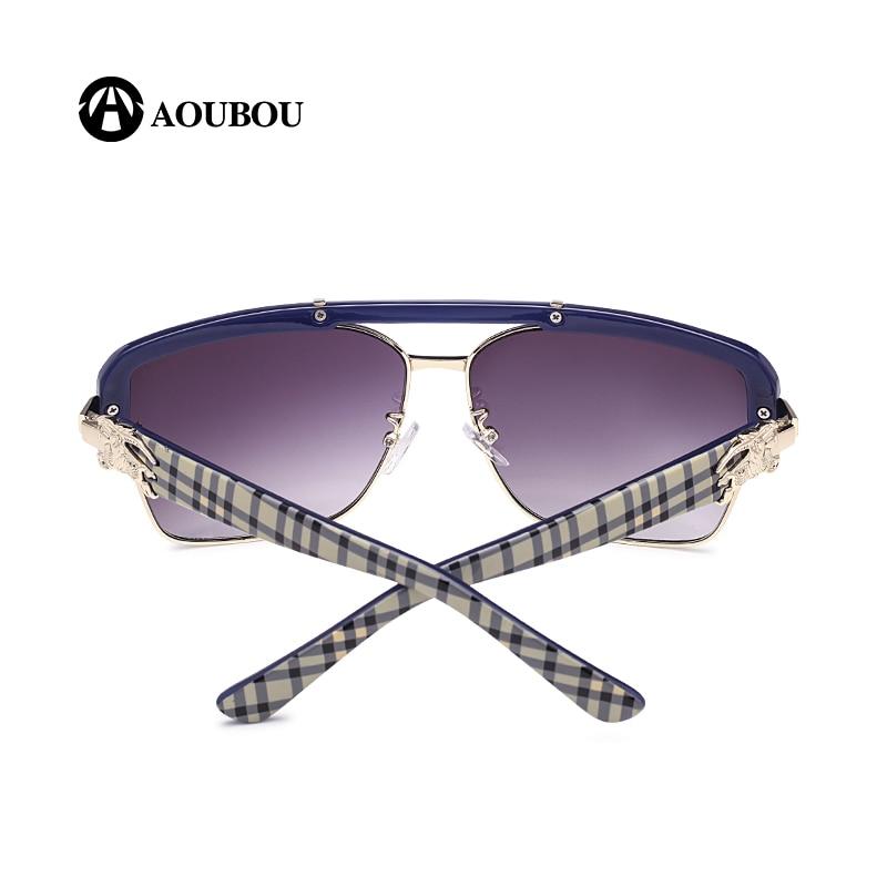 AOUBOU Marque Design Classique Logo Lunettes De Soleil Hommes UV400 - Accessoires pour vêtements - Photo 4