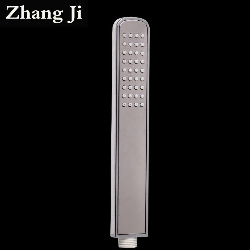 Zhangji Bar Tipo Elegante ABS Doccia A Mano Testa del Bicromato di Potassio Acqua Risparmio Energetico Bianco Doccia Ugello Argento Che Copre Da Bagno di Pioggia Soffioni per doccia