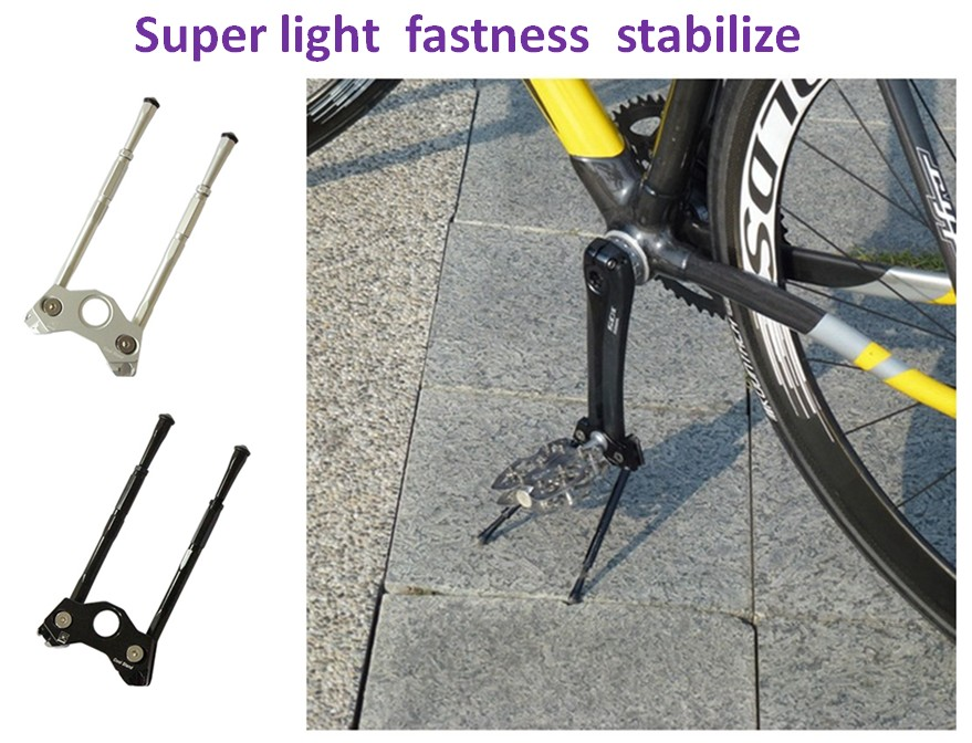 Gearoop Coolstand Bicycle Kickstand Crank Stay Bracket Stand Holder BMX Crank Kickstand Parking Rack