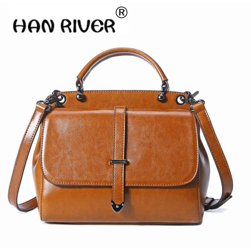 HANRIVER 2018 Spring and summer fashionable high quality new leather womens single shoulder bagHANRIVER 2018 Spring and summer fashionable high quality new leather womens single shoulder bag