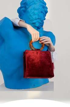 One Pair acrylic bag / handbag handle, a...