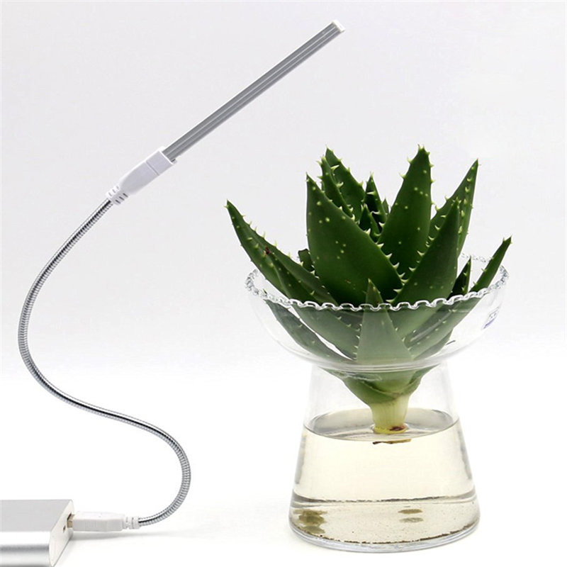 House Plant Grow Light: Portable USB LED Plant Grow Light Lamp 2.5W 10 Red 4 Blue
