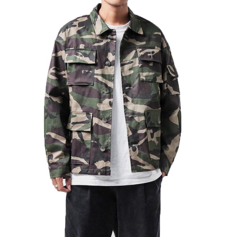 Streetwear Blouson Mâle Hommes Camouflag 2018 Desert 4xl De Green Militaire Camouflage army Survêtement Homme Camouflage Veste Manteaux Taille Grande vqUX0zUxw