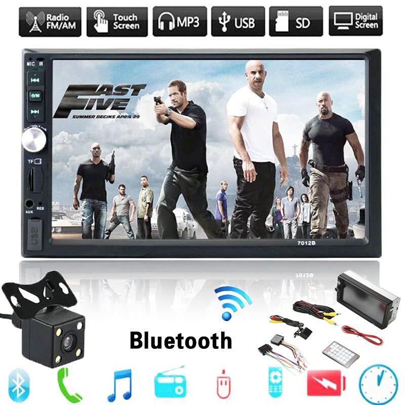 7″ inch HD Digital TFT Touch Button LCD Digital Screen Car Headrest Monitor DVD Player USB/SD MP5 MP3 Player Game Radio XNC